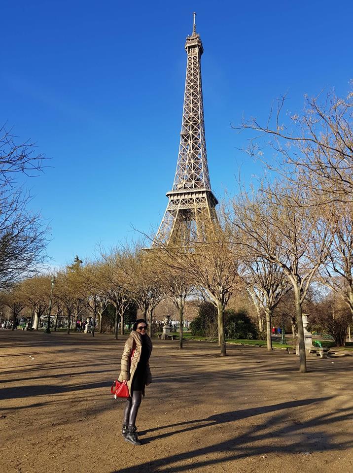Eiffelov toranj - dan